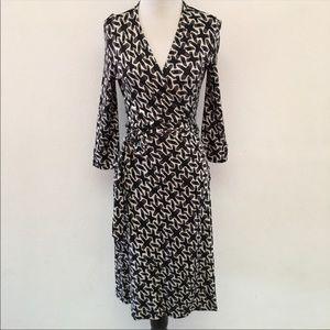 Diane von Furstenberg Julian Wrap Dress size 6